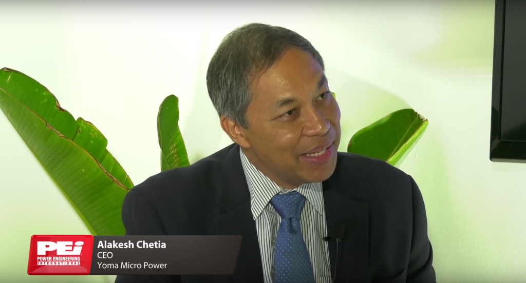 Alakesh Chetia, CEO of Yoma Micro Power talks about Microgrid