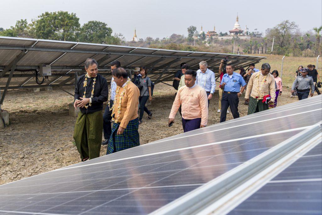 Myanmar Times News: Solar power gains ground in Sagaing.