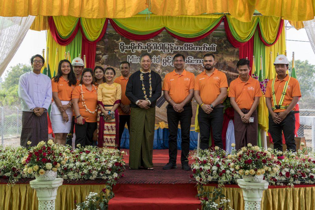 Breakthrough Renewable Energy Project in Myanmar Delivers